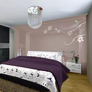 别墅卧室壁纸装修