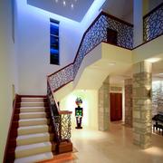 俊秀时尚的楼梯
