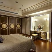 沉稳型卧室背景墙