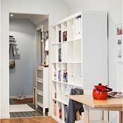 简约风格书柜装修设计