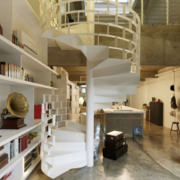 宜家风格复式楼楼梯