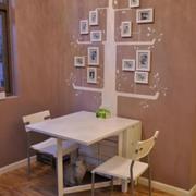 暖色调桌子设计图片