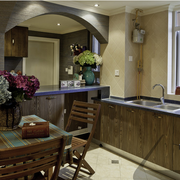 古典系列厨房装修图片