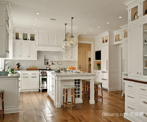 6平米法式开放式厨房装修效果图
