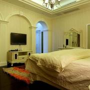 清新系列别墅卧室装修