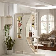 时尚风格酒柜设计图片