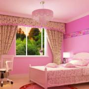 欧式简约风格田园卧室飘窗装饰
