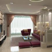 现代简约风格客厅简易鞋柜装饰