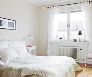 白色清新简约风格卧室装饰