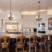 美式简约风格整体厨房橱柜装饰
