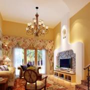现代客厅设计唯美图