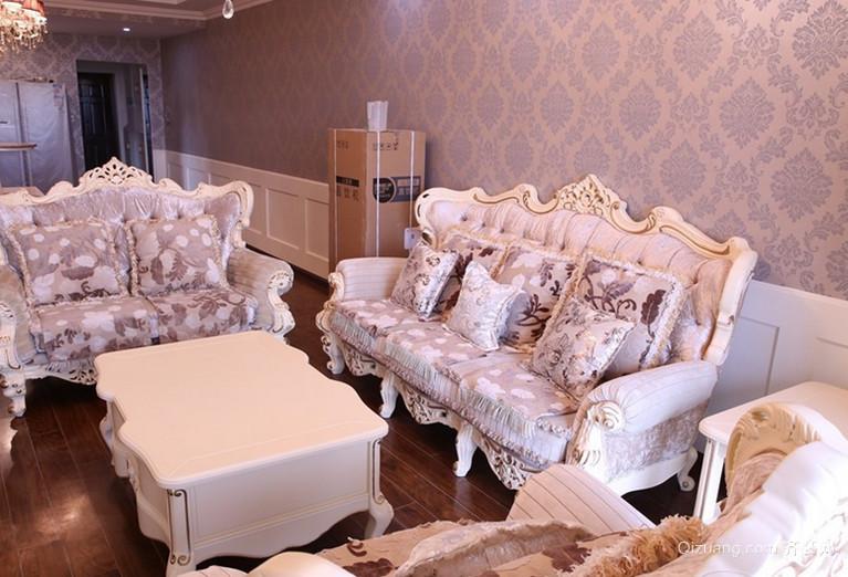 2015豪华欧式客厅沙发装修效果图鉴赏