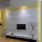 简约风格石膏板电视背景墙
