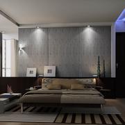 后现代风格卧室壁纸装饰