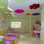 唯美幼儿园室内环境装修