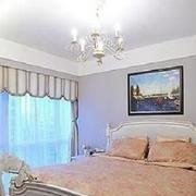 法式风格卧室床头背景墙装饰