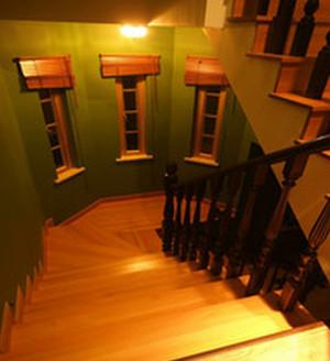 神秘的东南亚风格室内楼梯设计装修效果图欣赏