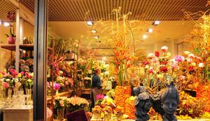 现代花店整体设计