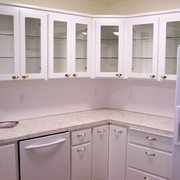 欧式整体式厨房橱柜装饰