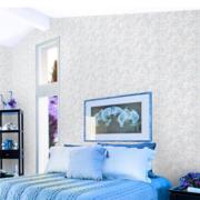 三室一厅蓝紫色卧室装饰
