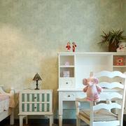 欧式田园风格儿童房梳妆柜装饰