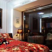 后现代风格卧室隔断装饰