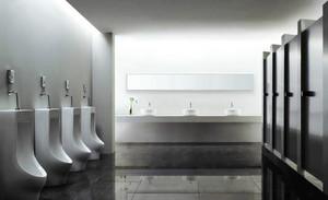 现代简约风格车站公厕装饰