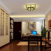 时尚中式书房装修