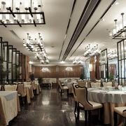 欧式简约风格餐厅吊灯设计