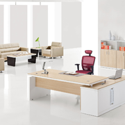 后现代风格浅色系办公室装饰
