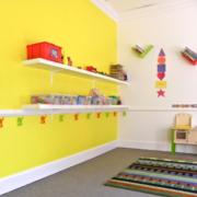 自然幼儿园室内环境装修