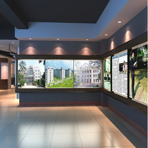 东南亚风格小户型展厅装修