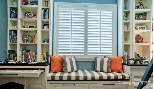 三室一厅地中海飘窗装修效果图