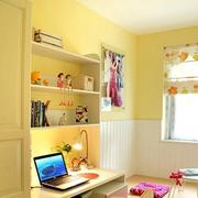 儿童房简约风格电脑桌装饰