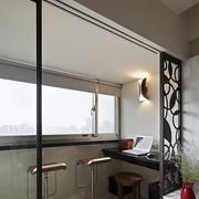 现代简约风格阳台吧台装饰