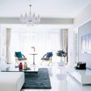 素雅客厅窗户设计