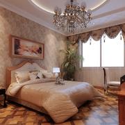 欧式简约风格卧室飘窗装饰