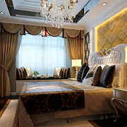 欧式奢华卧室床头灯饰装饰
