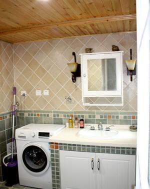 家庭欧式地中海风格卫生间装修效果图