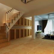 日式复式楼简约楼梯装饰