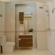 卫生间简约风格淋浴装饰
