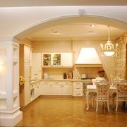 别墅奢华风格厨房橱柜装饰