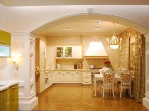 90平米大户型现代豪华型厨房欧派橱柜装修效果图