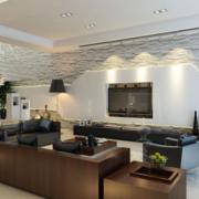 客厅简约风格电视柜中式