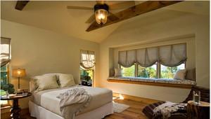 三室一厅美式乡村飘窗装修效果图