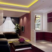 100平米房屋简约风格韩式厨房装饰