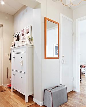 北欧风格清新玄关装饰