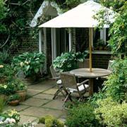 后现代风格小洋房庭院装饰