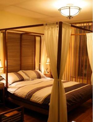 三室一厅东南亚飘窗装修效果图