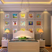 欧式简约风格卧室床头灯饰装饰